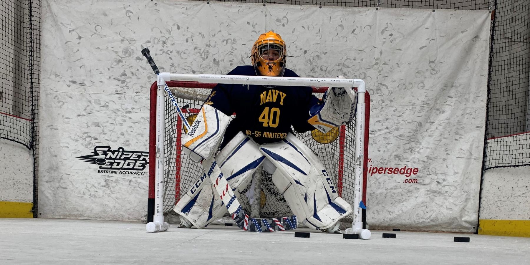 Goalie at Extra Hour in private lesson